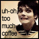 uh oh too much coffee