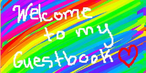 Welcome to my Guestbook