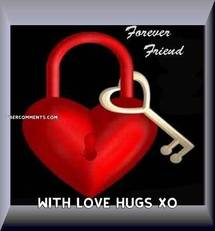 WITH LOVE HUGS XO