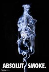 absolut smoke
