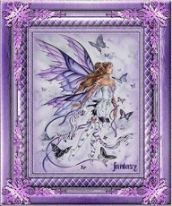framed fairy