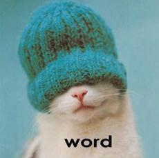 cat with hat - word