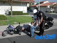 owned - police arrest little boy