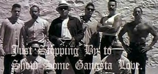 just stopping by to show some gangsta love