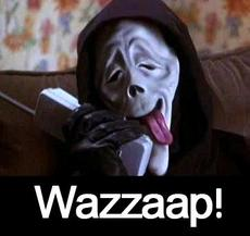 Scream wazzaap