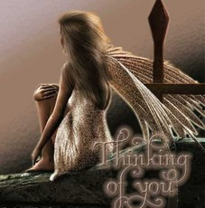 thinking of you angel