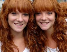 two redheads