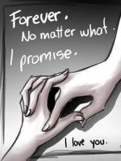 forever no matter what i promise i love you