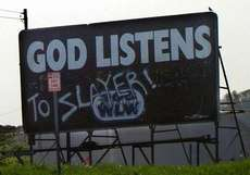 god listens to slayer