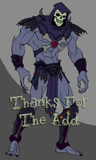thanks for the add skeletor he-man he man
