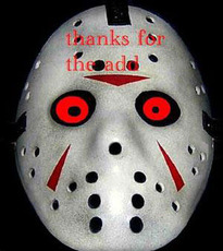 thanks for the add jason mask
