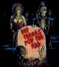 hey thanks for the add zombie punks
