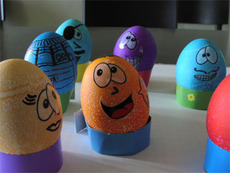 goofy easter eggs