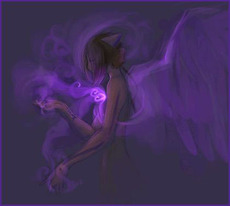 angel purple smoke