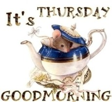 its thursday good morning