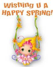 Wishing U A Happy Spring!