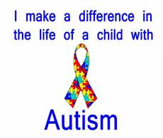 I make a difference in the life of a child with Autism