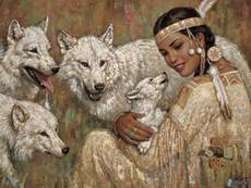 Native American Wolves