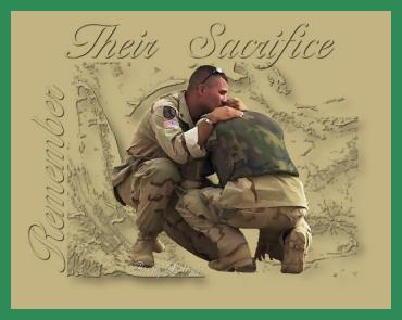 remember their sacrifice