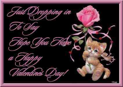 hope you have a happy valentines day