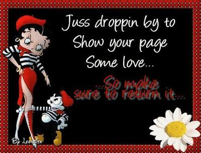 show your page some love betty boop