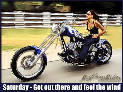 saturday get out there and feel the wind