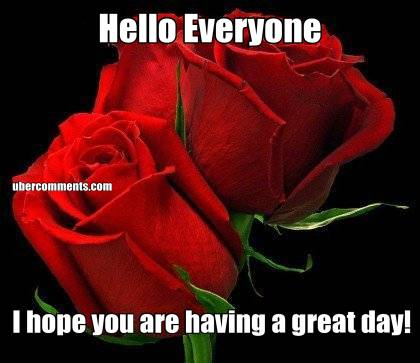 Hello Everyone I hope you are having a great day!