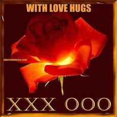 WITH LOVE HUGS