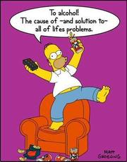 Homer Simpsons ode to alcohol