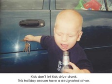 kids don't let kids drive drunk designated driver