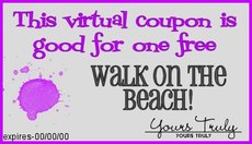 walk on the beach coupon