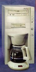 dvd coffee maker