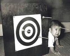 baby gets shot with dart