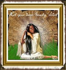 native american let your inner beauty shine
