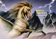 your a guardian unicorn