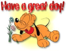 have a great day pluto