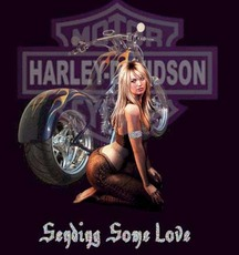sending some love harley davidson