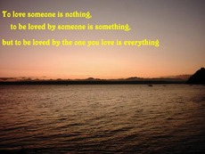 loving someone