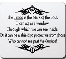 the tattoo is the mark of the soul