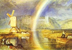 Castle with Rainbow