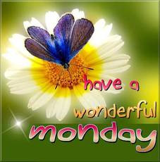 Have a wonderful Monday